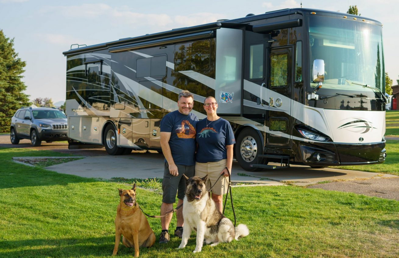 Harley Dogs RVing